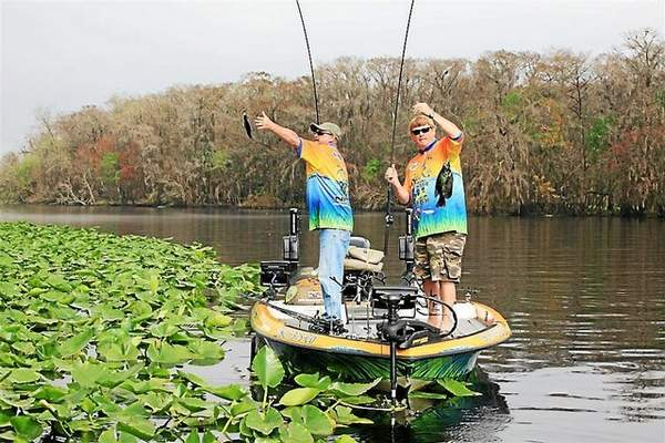 Warm your heart with crappie fishing in florida outdoor for Crappie fishing florida