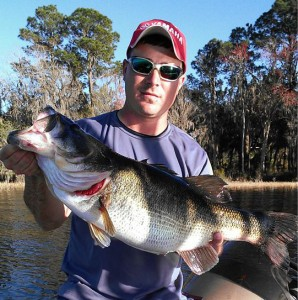 Two Trophy Bass Florida