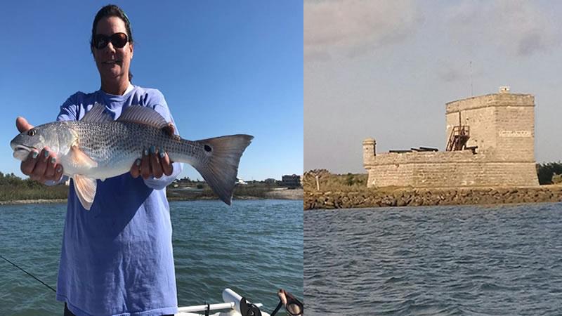 Florida Matanzas Inlet Redfish Fishing