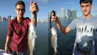 Miami Sea Trout Fishing