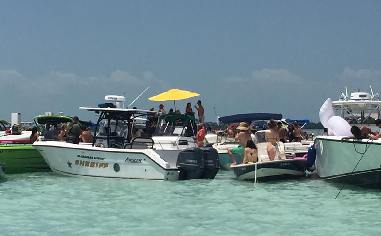 Ft Lauderdale Intercoastal Sandbar Cruise