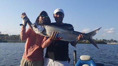 Miami Freshwater Tarpon Fishing