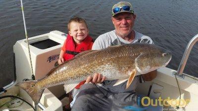 Trophy Florida Redfish Fishing