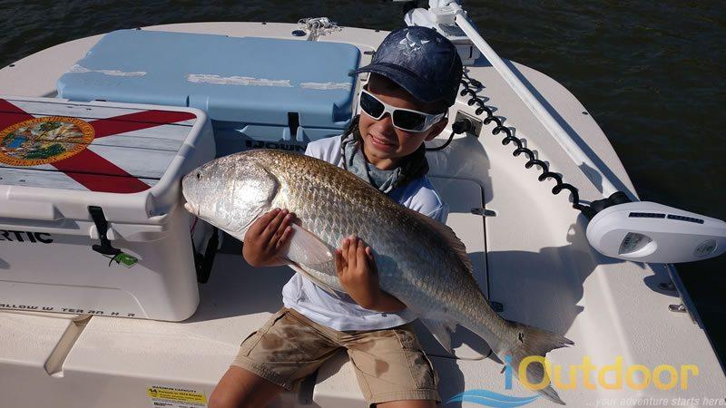 Family Redfish Fishing Charter 1