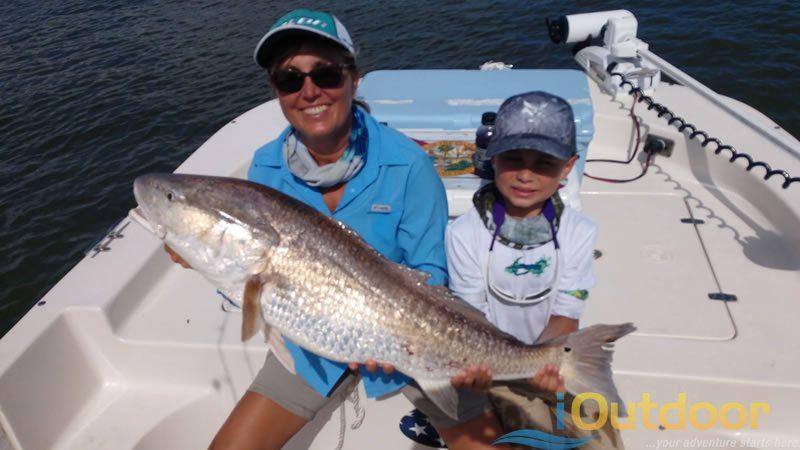 Family Redfish Fishing Charter in Marathon Beach, FL