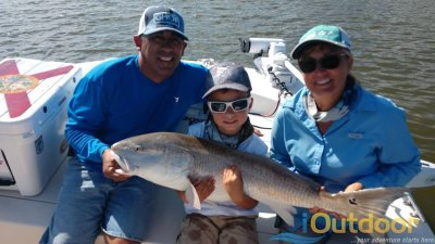 Family Redfish Fishing Charter