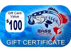 Freshwater Fishing Gift Certificates