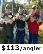 Crappie Fishing in Belle Glade Florida