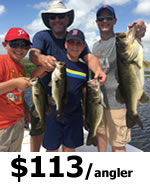 Orlando Bass Fishing Charters