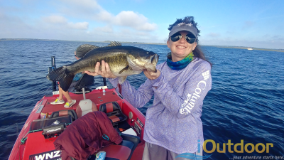kissimmee bass fishing report