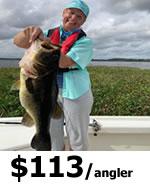 Rodman Reservior Fishing in Florida