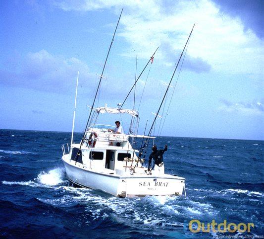 Boat charters in clearwater fl ioutdoor adventures for Deep sea fishing fort pierce